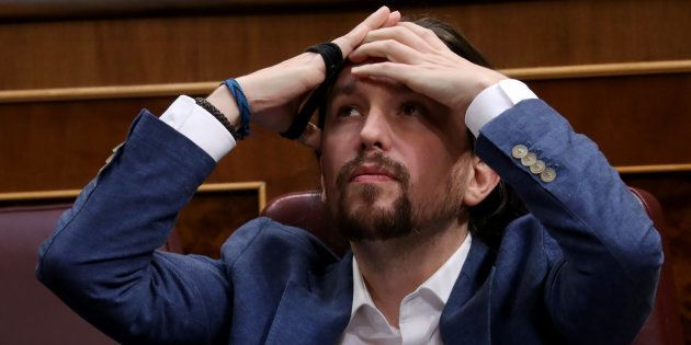 Pablo Iglesias, retratado el pasado mayo en el