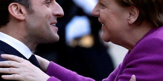 Imagen de archivo de Macron y