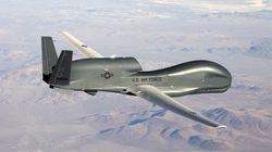 Un avión no tripulado norteamericano se estrelló en junio frente a las costas de