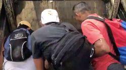 Buscando comida en un basurero: el vídeo que provocó la ira de Maduro y la detención del equipo de