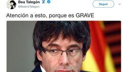 La Guardia Civil carga contra Beatriz Talegón por firmar este bulo sobre