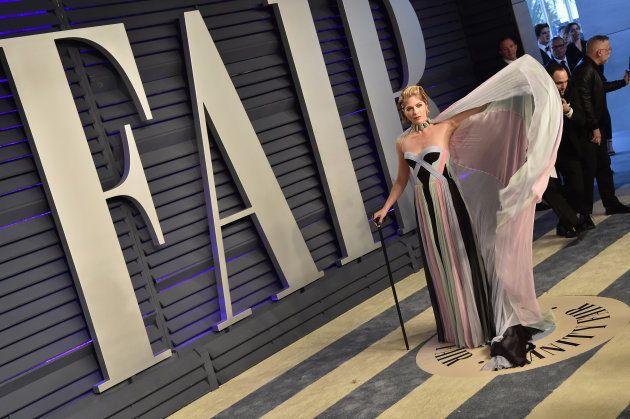 Selma Blair, en la fiesta Vanity Fair de los Oscar