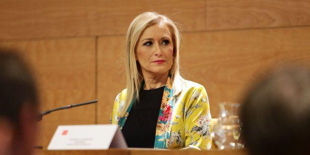 Cristina Cifuentes asegura que las acusaciones de falsificación de notas en su máster