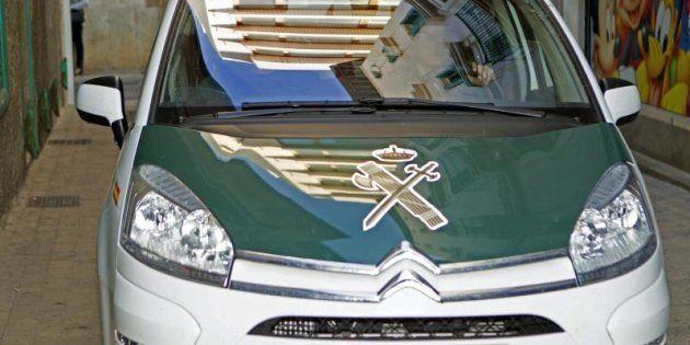 Un coche de la Guardia Civil, en una imagen de