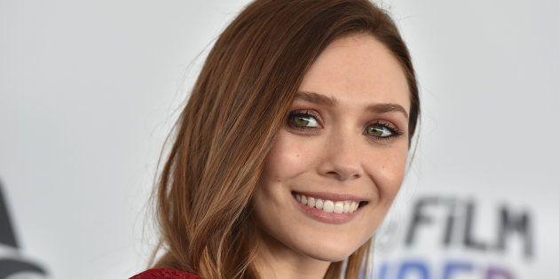 La actriz Elizabeth Olsen, en los Spirit Awards el 3 de marzo de