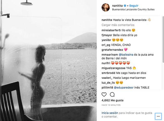 Anna Castillo incendia Instagram con su desnudo