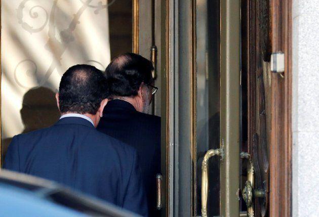 Mariano Rajoy llega al Tribunal