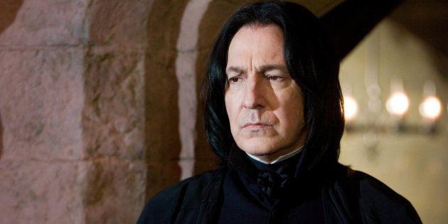 Este detalle en la última película de 'Harry Potter' demuestra que Snape no era tan malo como
