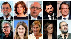 Nueva fase en el juicio del 'procés': Declaran Rajoy, Santamaría, Mas,