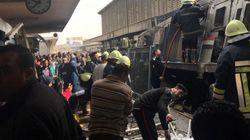 Un incendio en la principal estación de tren de El Cairo deja al menos 20