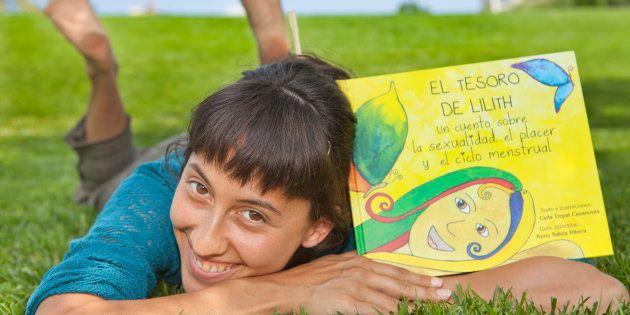 Carla Trepat, con su libro 'El tesoro de