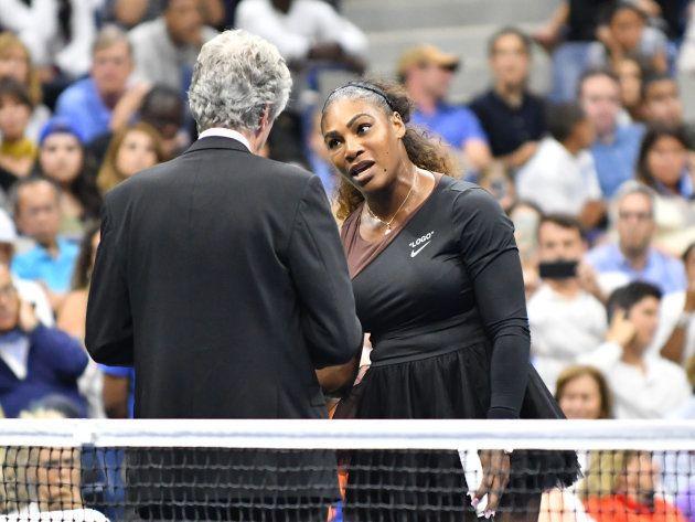 Serena Williams, pidiendo cuentas por las