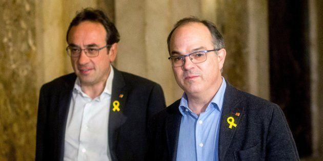 Josep Rull y Jordi