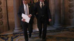 El Parlament rechaza la investidura de Turull en la primera