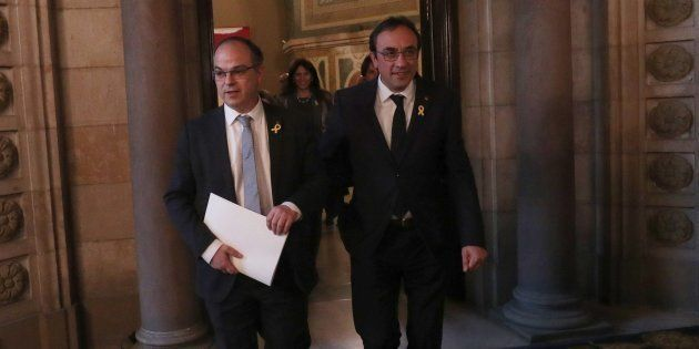 Jordi Turull y Josep