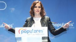 Isabel Díaz Ayuso (PP) se sirve de una mentira para defender a Cristina