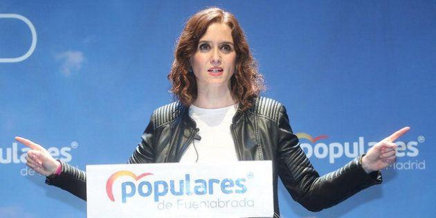 Isabel Díaz Ayuso, en un acto del