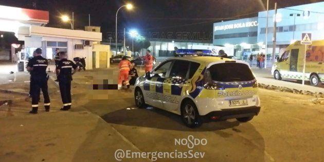Muere un motorista en Sevilla cuando huía de la
