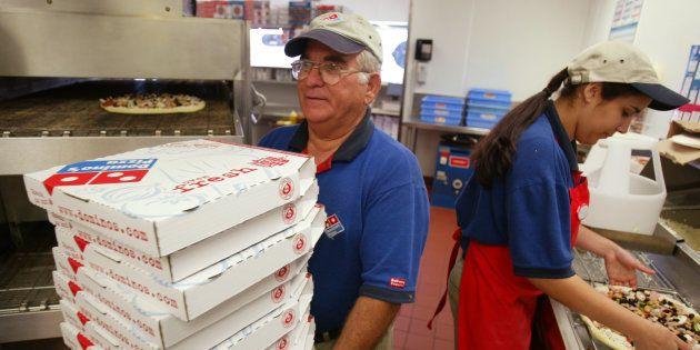 Una pizzería de Domino´s en Miami, en una imagen de