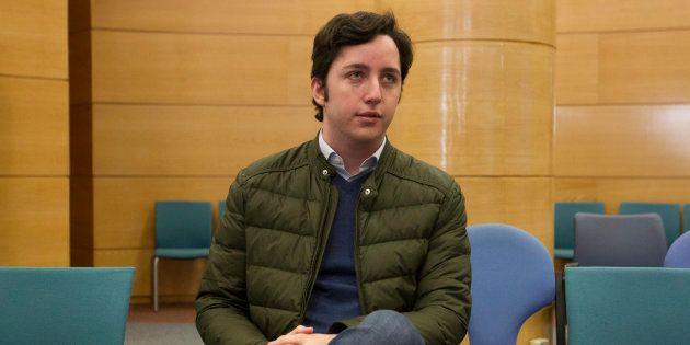 El Pequeño Nicolás, en el banquillo en su juicio por el uso de la imagen del CNI, en enero