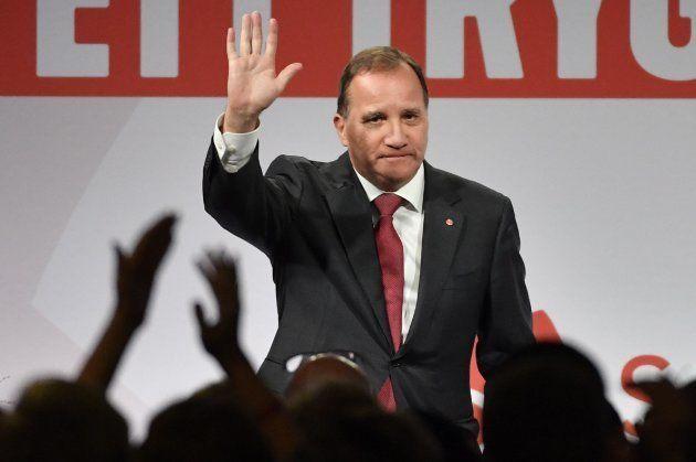 El socialdemócrata Stefan Lofven valora los resultados