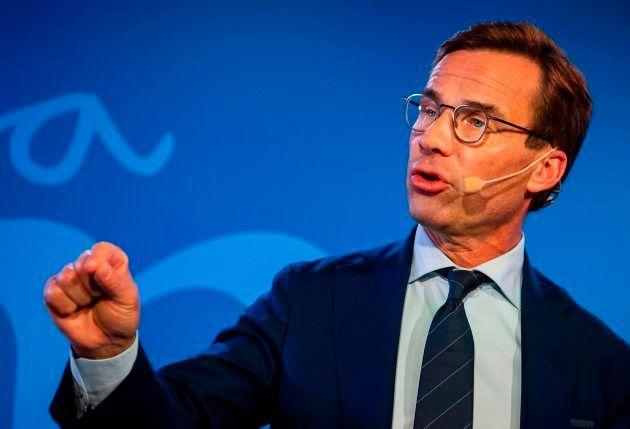 El líder del partido moderado sueco, Ulf