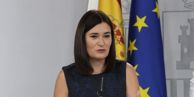 La ministra de Sanidad, Consumo y Bienestar Social, Carmen Montón, en una imagen de
