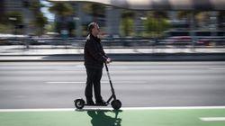 Las ciudades comienzan a regular ante la irrupción del patinete