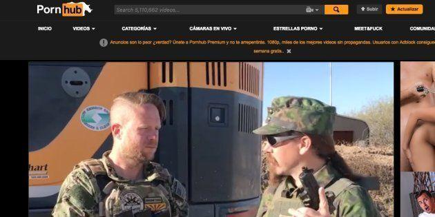 Captura de pantalla del primer vídeo de armas en