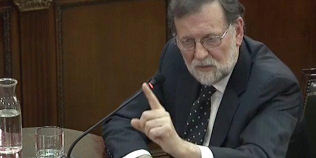 Mariano Rajoy declara como testigo en el juicio del