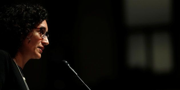 Marta Rovira, Carme Forcadell y Dolors Bassa renuncian a su acta de