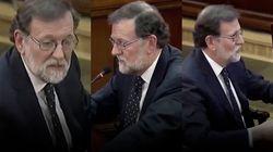 El paso de Mariano Rajoy por el juicio del 'procés' en 5