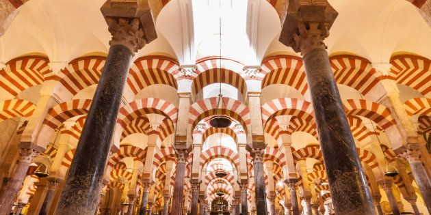 Interior de la Mezquita de