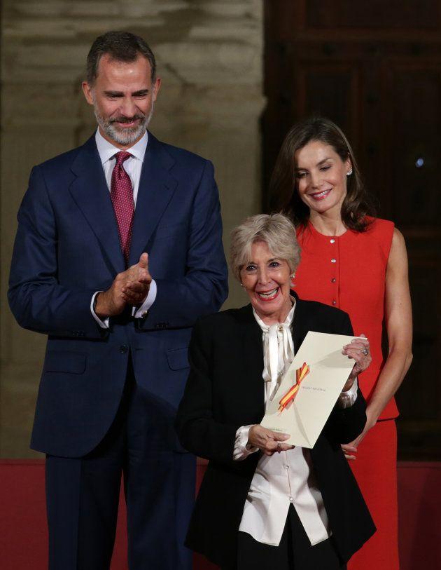 Concha Velasco desvela que Pablo Motos intentó llevar a la reina Letizia a 'El