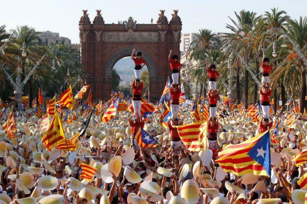 Barcelona en la Diada de
