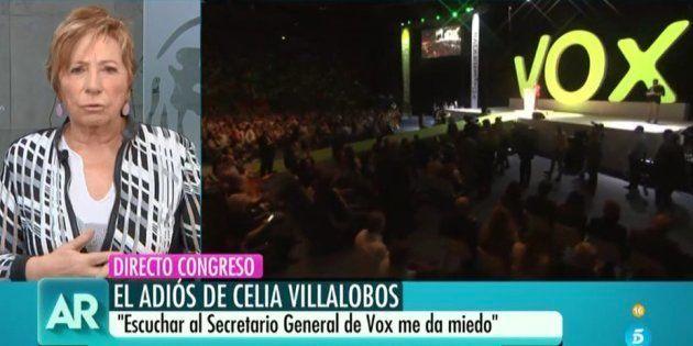Celia Villalobos en 'El programa de