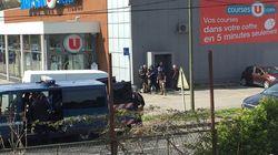 Tres muertos en un ataque terrorista con rehenes en un supermercado del sur de
