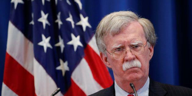 John Bolton, asesor de seguridad nacional de