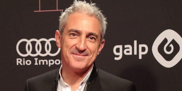 El periodista Jon Sistiaga, en los Premios Ondas 2016 en