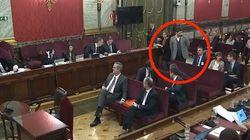 El feo desplante de Rufián en el Salón del Supremo que no ha pasado