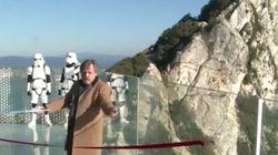 Luke Skywalker se presenta en