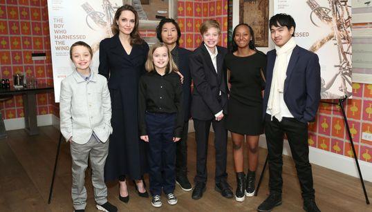 Reto visual: ¿sabes identificar a los seis hijos de Angelina