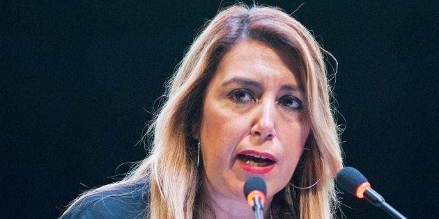 La presidenta de la Junta de Andalucía, Susana Díaz, en una imagen de