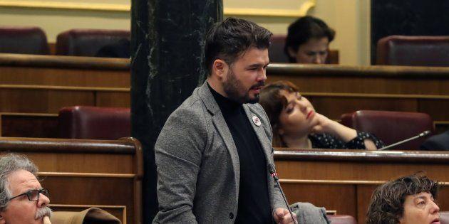 Rufián, a Puigdemont:
