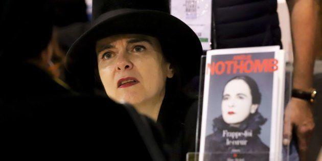 Amélie Nothomb, premio Nobel de