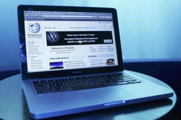 Imagen de archivo de un ordenador con la página de la