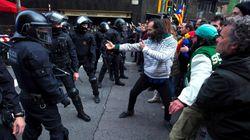Cachondeo con esta imagen de los enfrentamientos en
