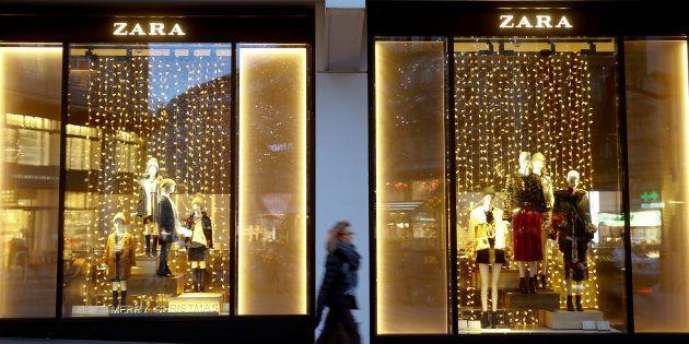 Un establecimiento de la cadena de tiendas de ropa Zara, del grupo Inditex, en Zurich