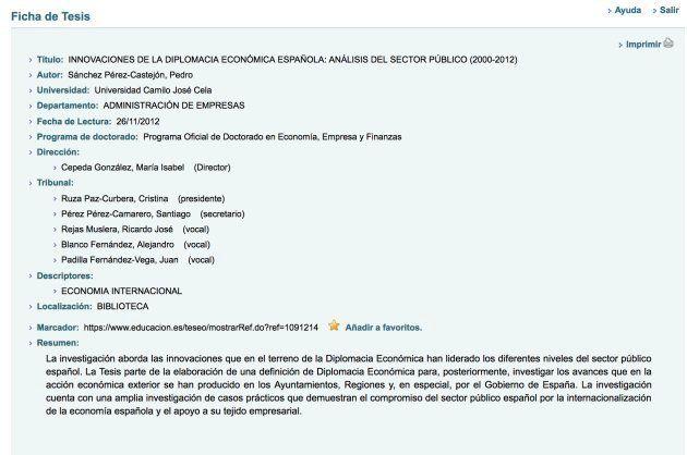 7+1 respuestas a las dudas sobre la tesis doctoral de Pedro