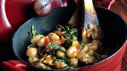 Cocinar con ollas de hierro